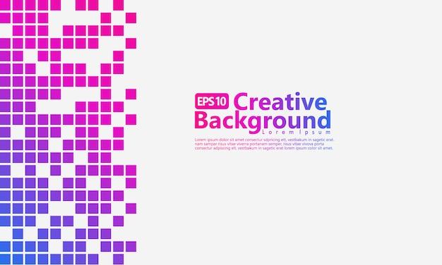 Halftone abstracte verticale achtergrond met blauwe, paarse en roze gradatiekleur