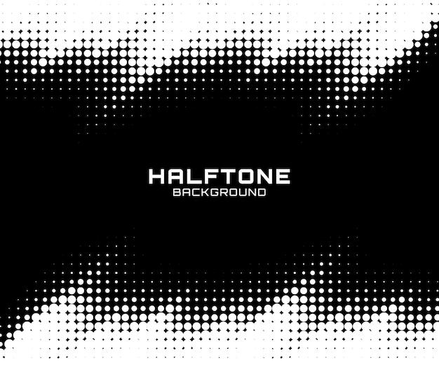 Halftone achtergrond met kleurovergang.
