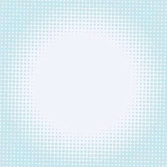 Halftone achtergrond met ronde vorm