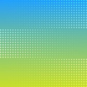 Halftone achtergrondkleur voor de kleurovergang