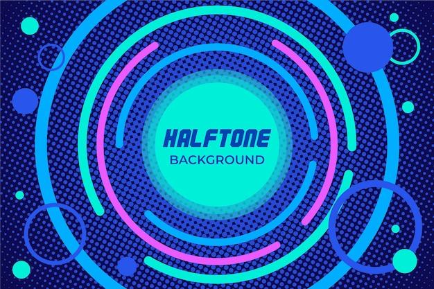 Halftone achtergrondmuziek sound design