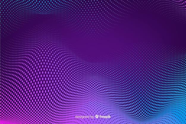 Halftone effect achtergrond gradient achtergrond