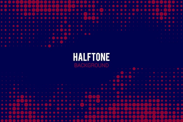 Halftone effect achtergrond