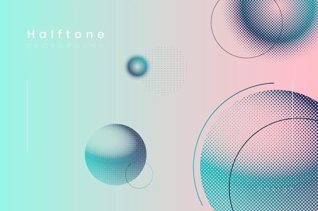 Halftone gradient achtergrond