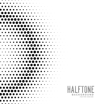 Halftone gradient circles dot background
