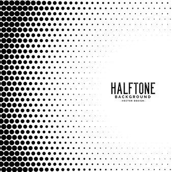 Halftone gradient stippen patroon achtergrond
