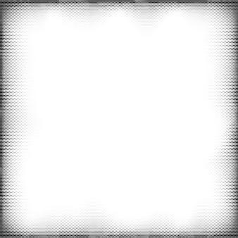 Halftone grunge pop-art frame. komische stijl achtergrond.
