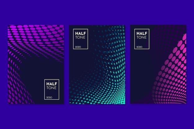 Halftone verloopcollectie