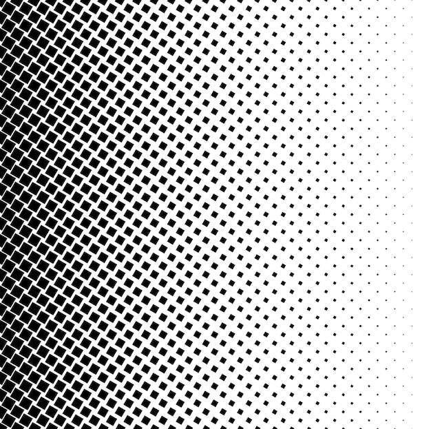 Halftone vierkante stip vector textuur. halftoonpatroon toon achtergrond