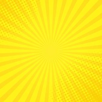 Halftone zonneschijnachtergrond
