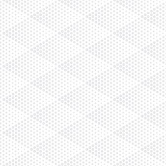 Halftoon rhombus licht naadloos patroon