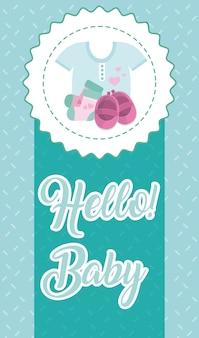 Hallo babykaart
