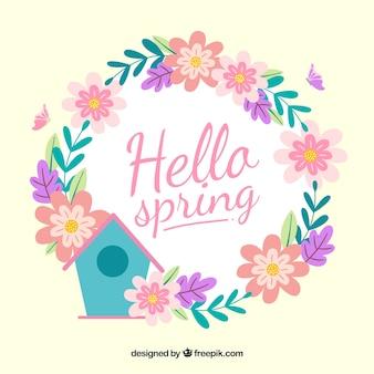 Hallo lente achtergrond