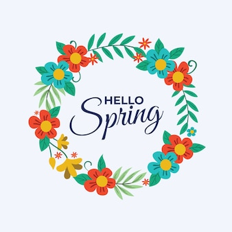 Hallo lente belettering ontwerp