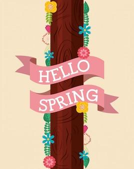 Hallo lente kaart