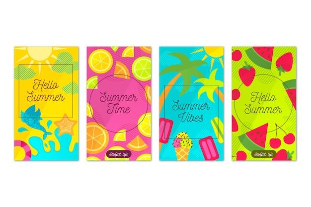 Hallo zomer instagram verhaalcollectie