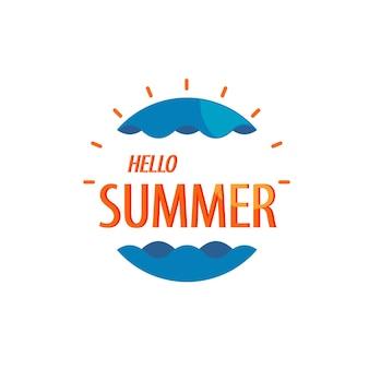 Hallo zomer-logo
