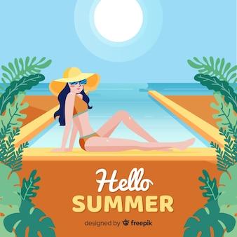 Hallo zomer