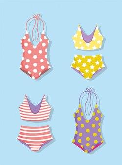 Hallo zomervakantie badpakken en bikini