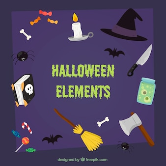 Halloween accessoires set