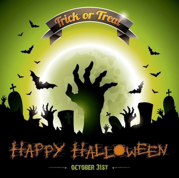 Halloween achtergrond ontwerp