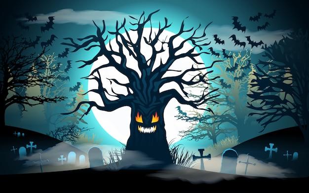 Halloween achtergrond.