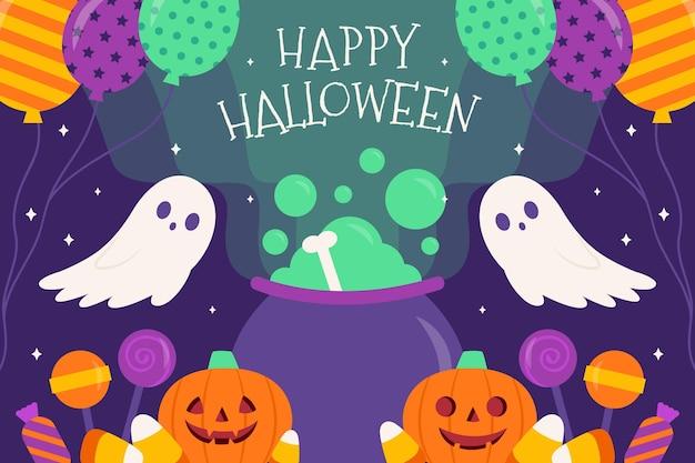 Halloween-achtergrondthema