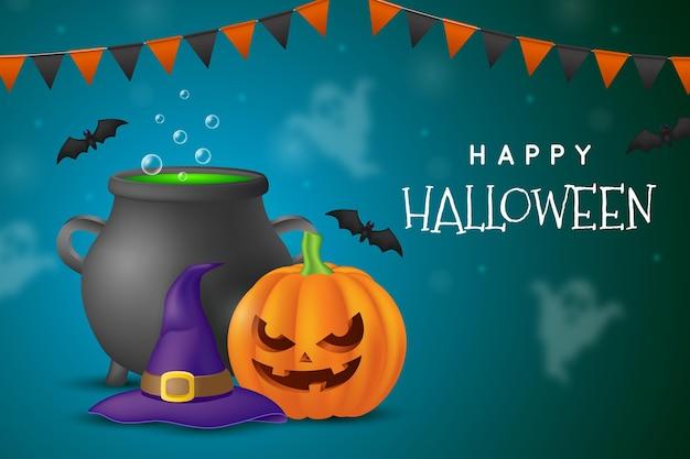 Halloween achtergrondthema