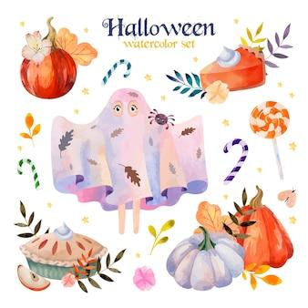 Halloween aquarel set