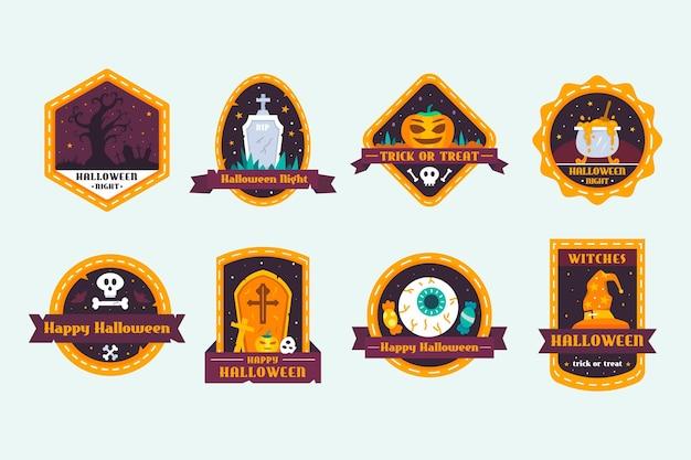 Halloween badge collectie