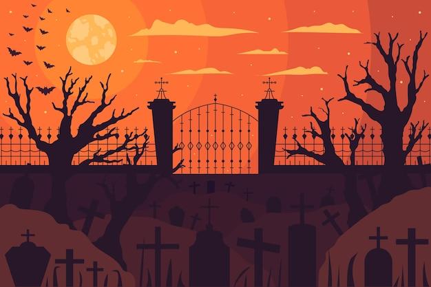 Halloween behang