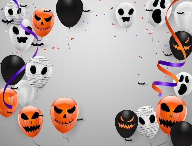 Halloween carnaval achtergrond,