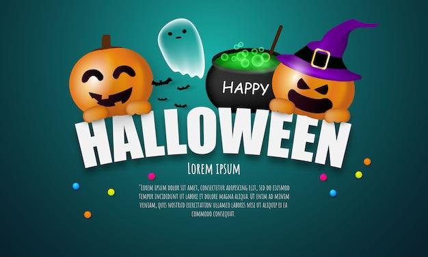 Halloween carnaval feest,