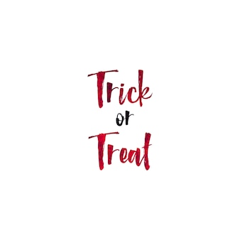 Halloween dag hand belettering