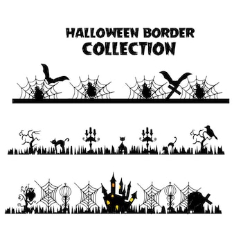 Halloween decoratie vector