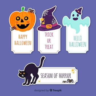 Halloween-elementeninzameling