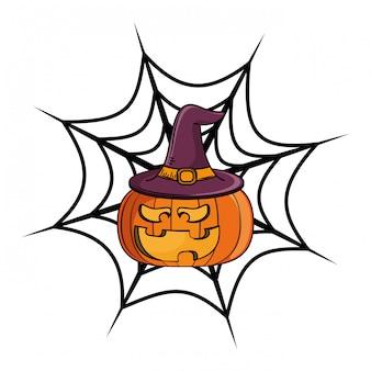 Halloween enge cartoon