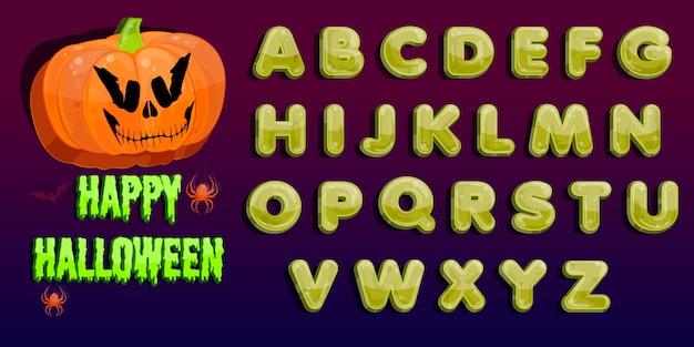 Halloween feest. jack o lantern feestje. halloween-pompoenflard in het maanlicht.