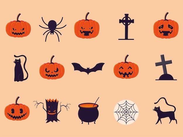 Halloween-feestset