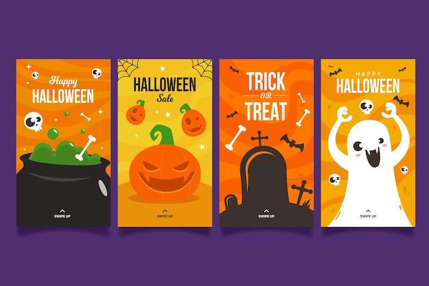Halloween festival instagram-verhalen