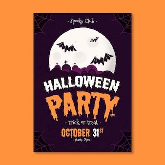 Halloween festival partij poster