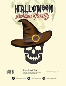 Halloween-flyer