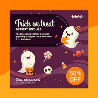 Halloween folder sjabloon