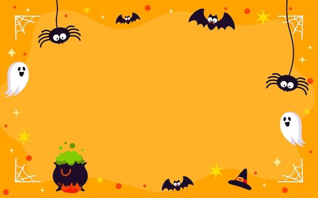 Halloween frame achtergrond