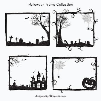 Halloween frames verpakken