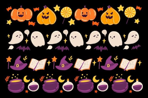 Halloween grens collectie concept