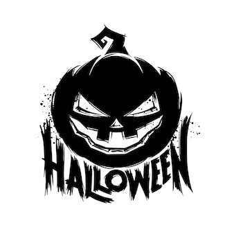Halloween grunge wenskaart