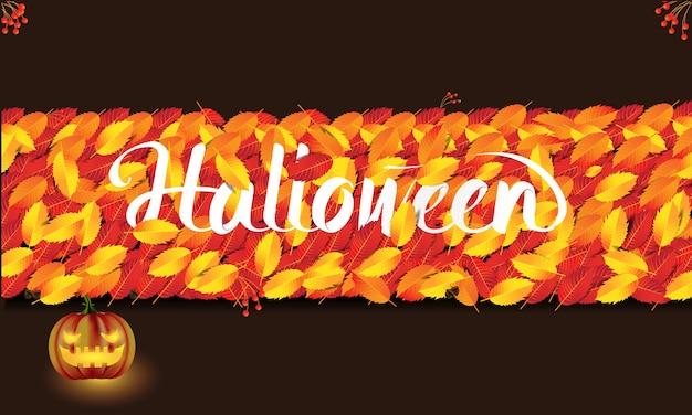 Halloween. halloween achtergrond. eps10 vector