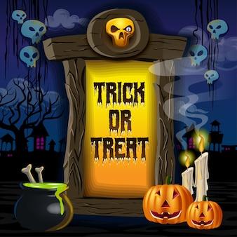 Halloween-ingang