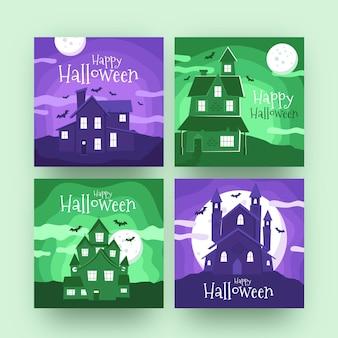 Halloween instagram-berichten instellen